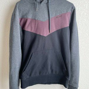 Mazine By BKE Large Hooded Mens Sweater Maroon